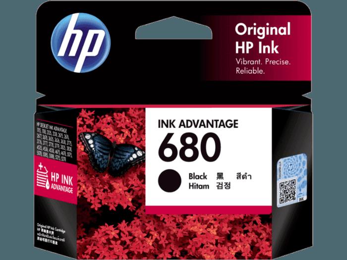 HP 680 Black Original Ink Advantage Cartridge