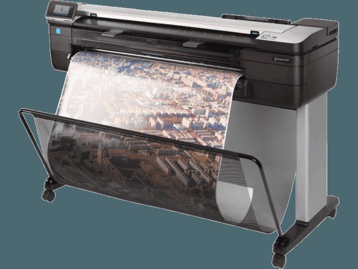 HP DesignJet T830 36-in Multifunction WiFi Plotter Printer - 36