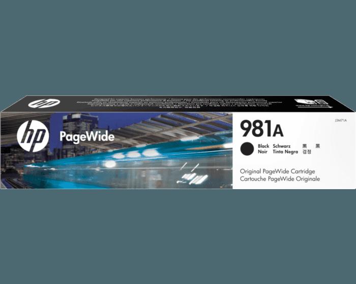 HP 981A Black Original PageWide Cartridge