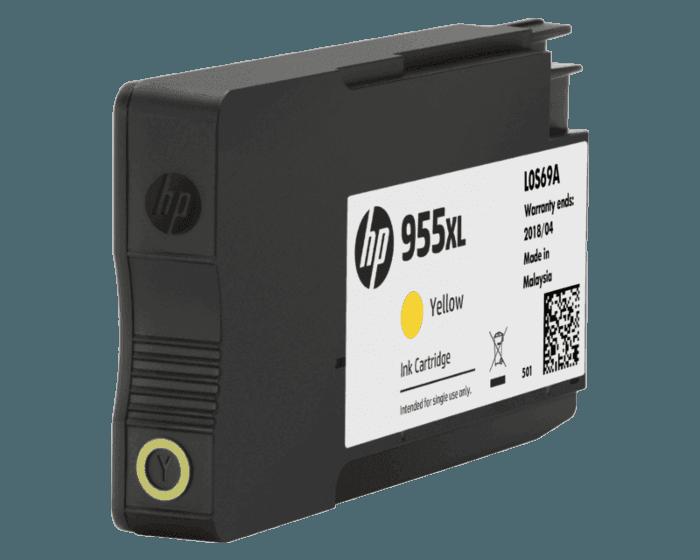 HP 955XL High Yield Yellow Original Ink Cartridge