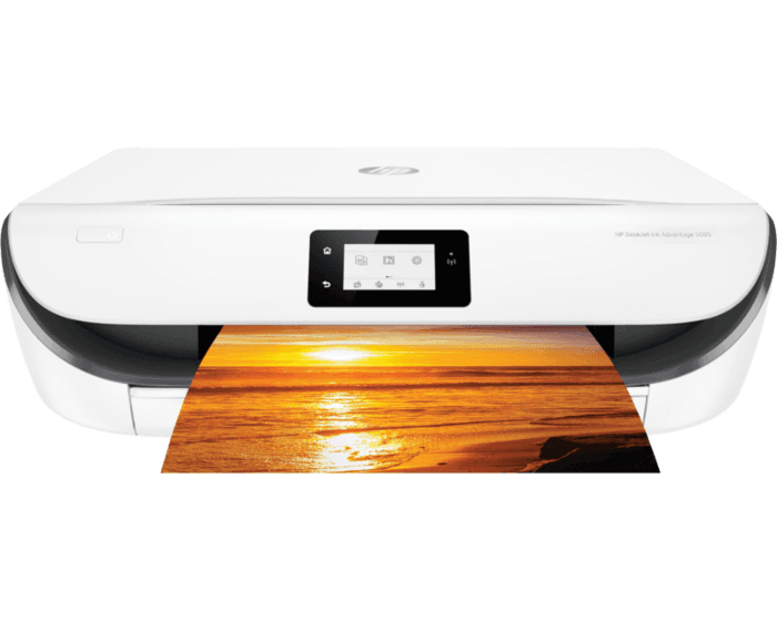 HP DeskJet Ink Advantage 5085 All-in-One Printer