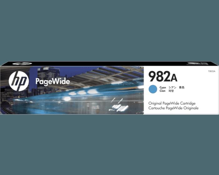 HP 982A Cyan Original PageWide Cartridge