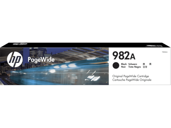 HP 982A Black Original PageWide Cartridge
