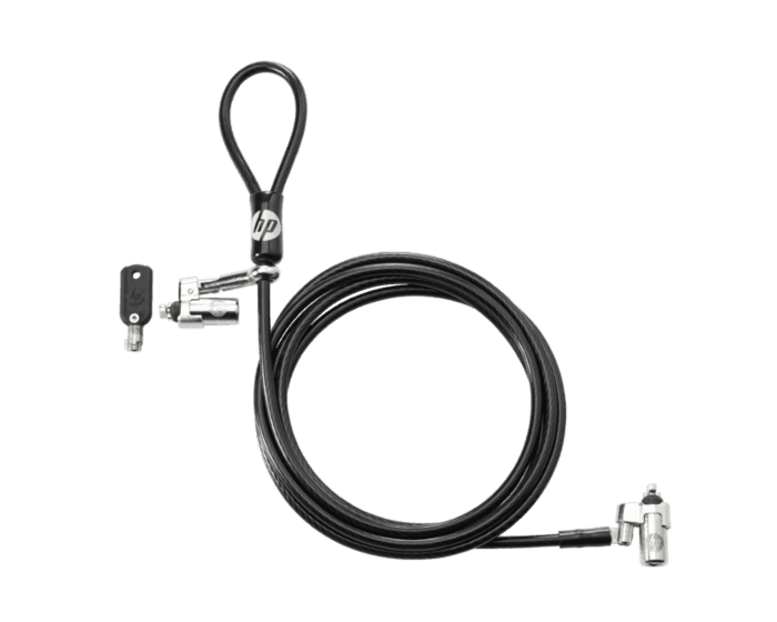 HP Dual Head Keyed Cable Lock 10 mm