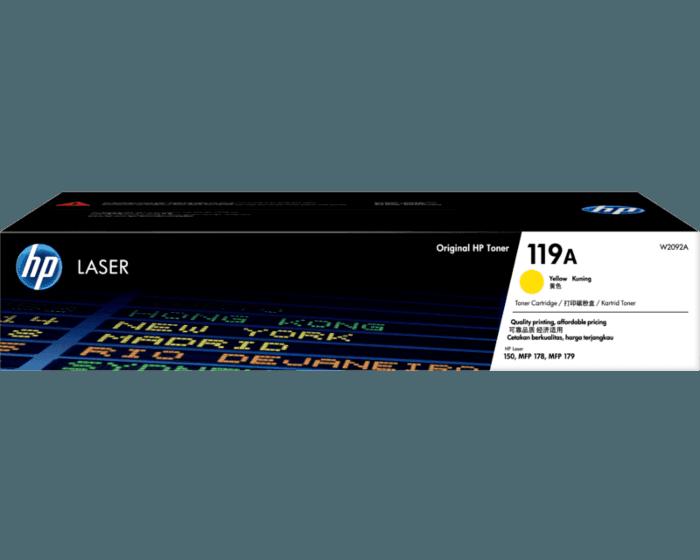HP 119A Yellow Original Laser Toner Cartridge