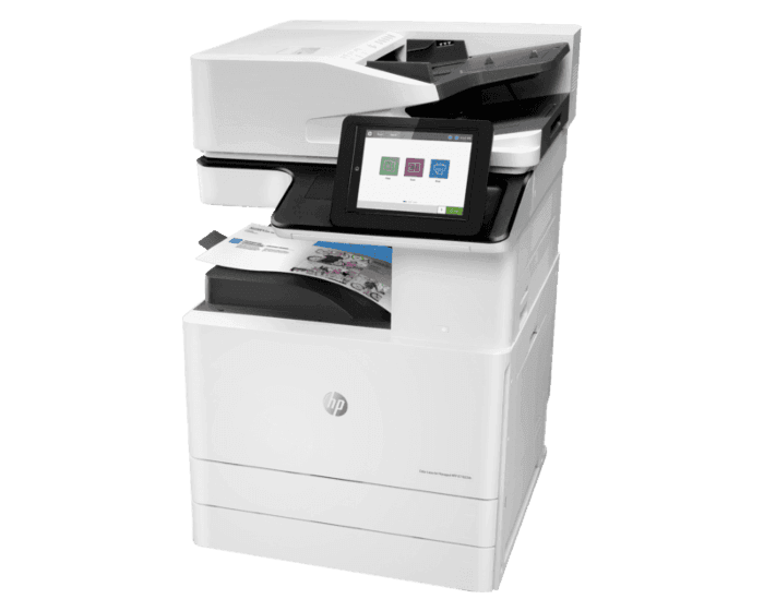 HP Color LaserJet Managed MFP E77822dn Plus - Bundle Product 22 ppm