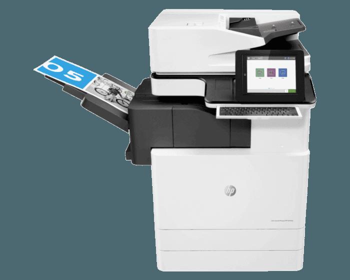 HP Color LaserJet Managed Flow MFP E87640z Plus - Bundle Product 40 ppm