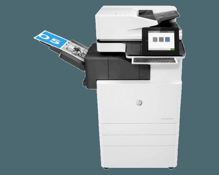 HP Color LaserJet Managed Flow MFP E87650z Plus - Bundle Product 50 ppm
