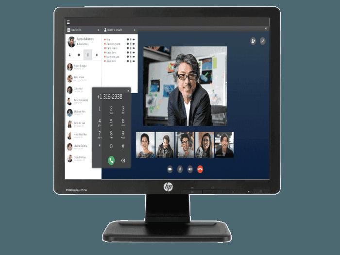 HP ProDisplay P17A 17-inch 5:4 LED Backlit Monitor