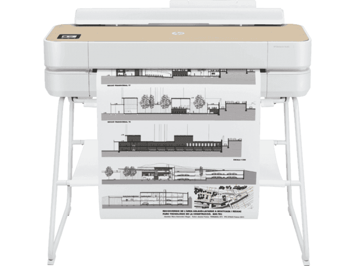 HP DesignJet Studio 24-inch Large Format Plotter Printer (up to A1 size) with Mobile Printing