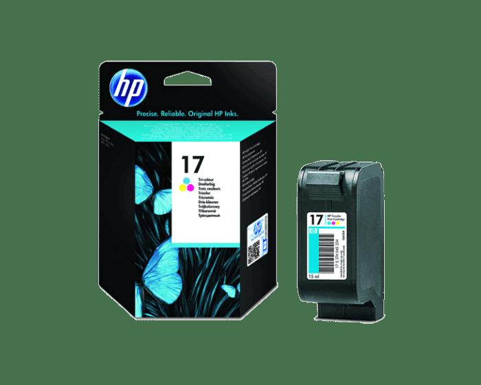 HP 17 Tri-color Original Ink Cartridge