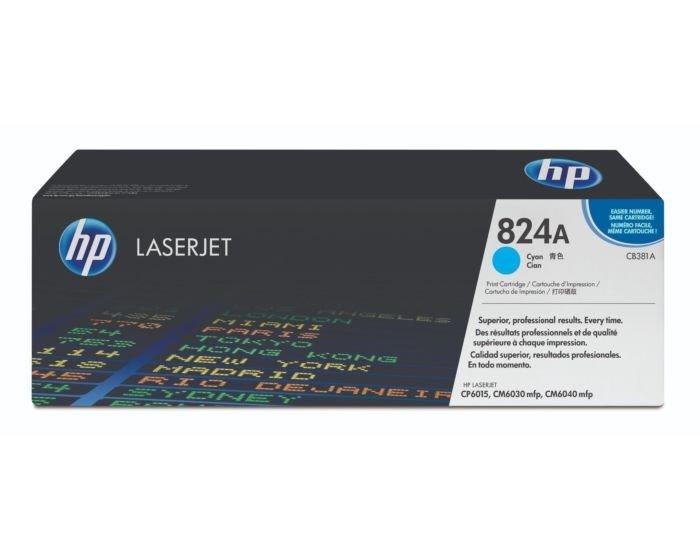 HP CB381A Cyan Original LaserJet Toner Cartridge