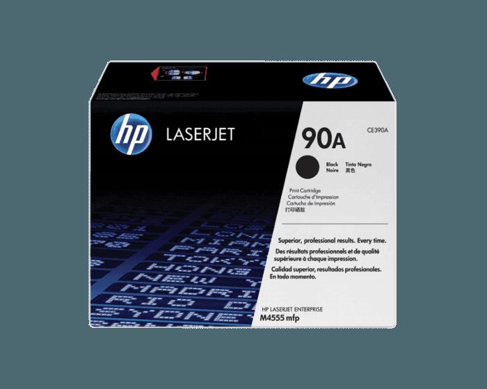 HP CE390A Black Original LaserJet Toner Cartridge