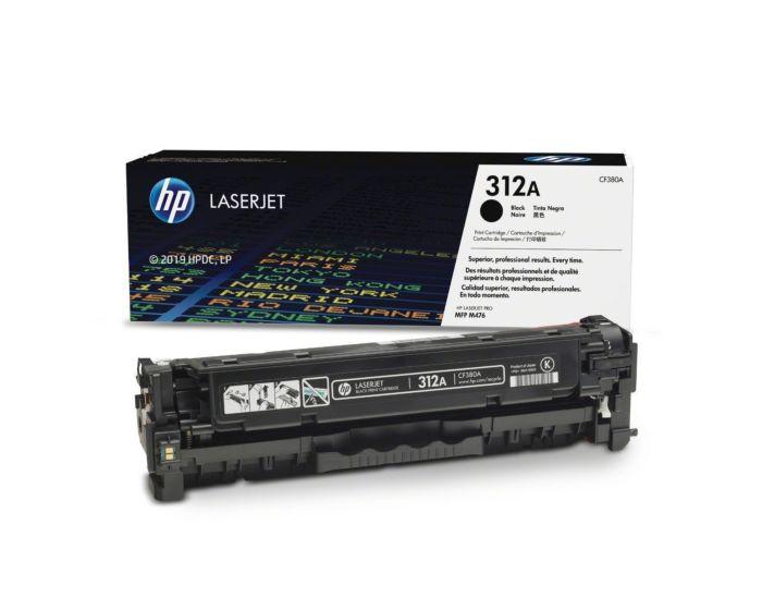 HP CF380A Black Original LaserJet Toner Cartridge