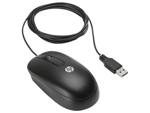 HP 3-button USB Laser Mouse