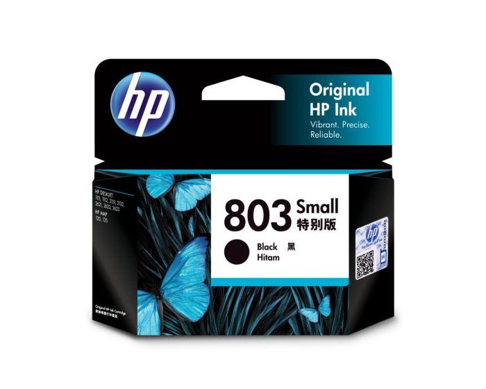 HP 803 Small Black Original Ink Cartridge