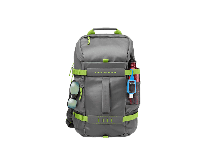 HP 39.62 cm(15.6) Odyssey Backpack Green/Gray