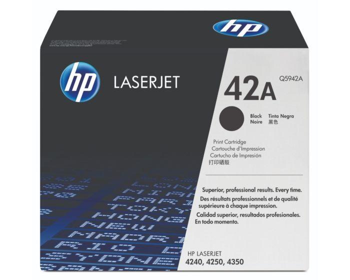 HP Q5942A Black Original LaserJet Toner Cartridge