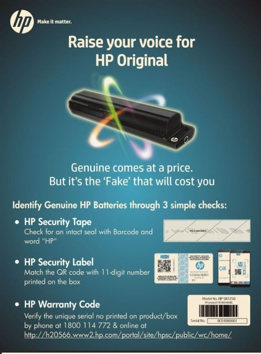 serial number check hp laptop