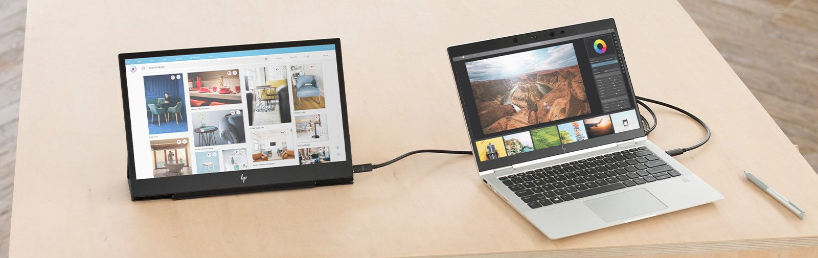 How to Set Up a Portable External Monitor for Your Laptop | HP Store India