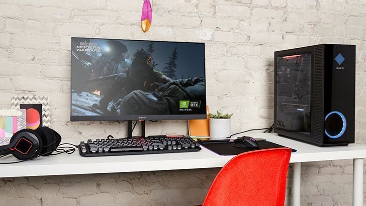 Omen desktop pc perform great visual experience with AMD FreeSync