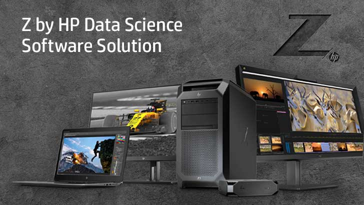 Z by HP Family Products with Data Science Solution Software
