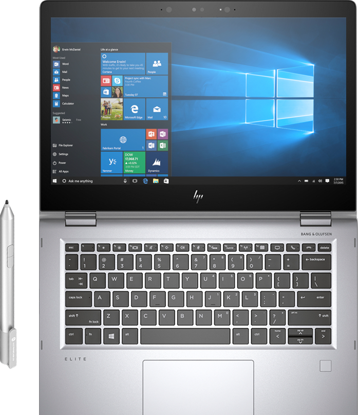 The HP EliteBook x360 travel product recommended by Nathan Finch on Lifney.
